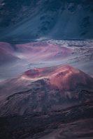 Keonehe'ehe'e (Sliding Sands) hike, Haleakalā National Park, Maui