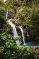 Three Bears Falls, Road to Hana, Maui