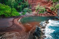 Red Sand Beach, Hana, Maui