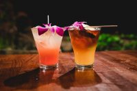 Cocktails in Lahaina, Maui