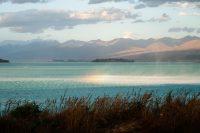 Wind sweeping across Lake Tekapo