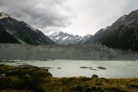 View from end of Kea Point Track, Aoraki/Mount Cook National Park