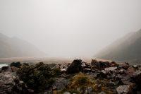 Obscured view, Blue Lakes & Tasman Glacier View Track, Aoraki/Mount Cook National Park