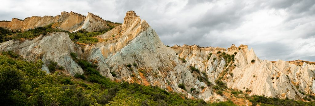 Clay Cliffs Scenic Area, Omarama