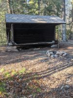 Cowhorn Pond lean-to