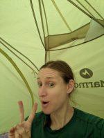 Night #2: Cowhorn Pond campsite