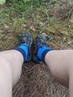 Neoprene socks for the win