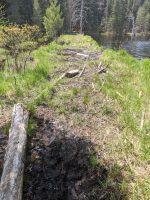 Wet terrain on the CL50