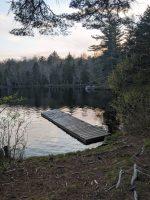 Dock at Peavine Swamp Loop 3 Campsite